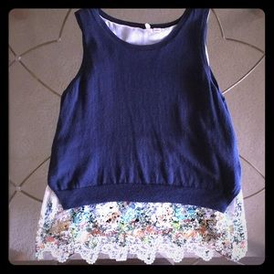 Lovely Anthropologie Moth Top Size XL